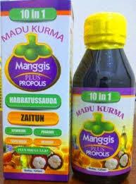 Jual Madu Kurma Manggis plus Propolis 10 in 1 Suplemen Anak Susah Makan