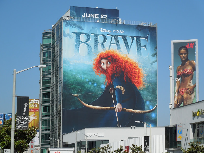Giant Brave billboard Sunset Strip
