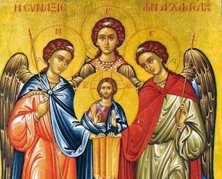 Εορτή της Συνάξεως των Αρχιστρατήγων Μιχαήλ και Γαβριήλ σήμερα 8 Νοεμβρίου.