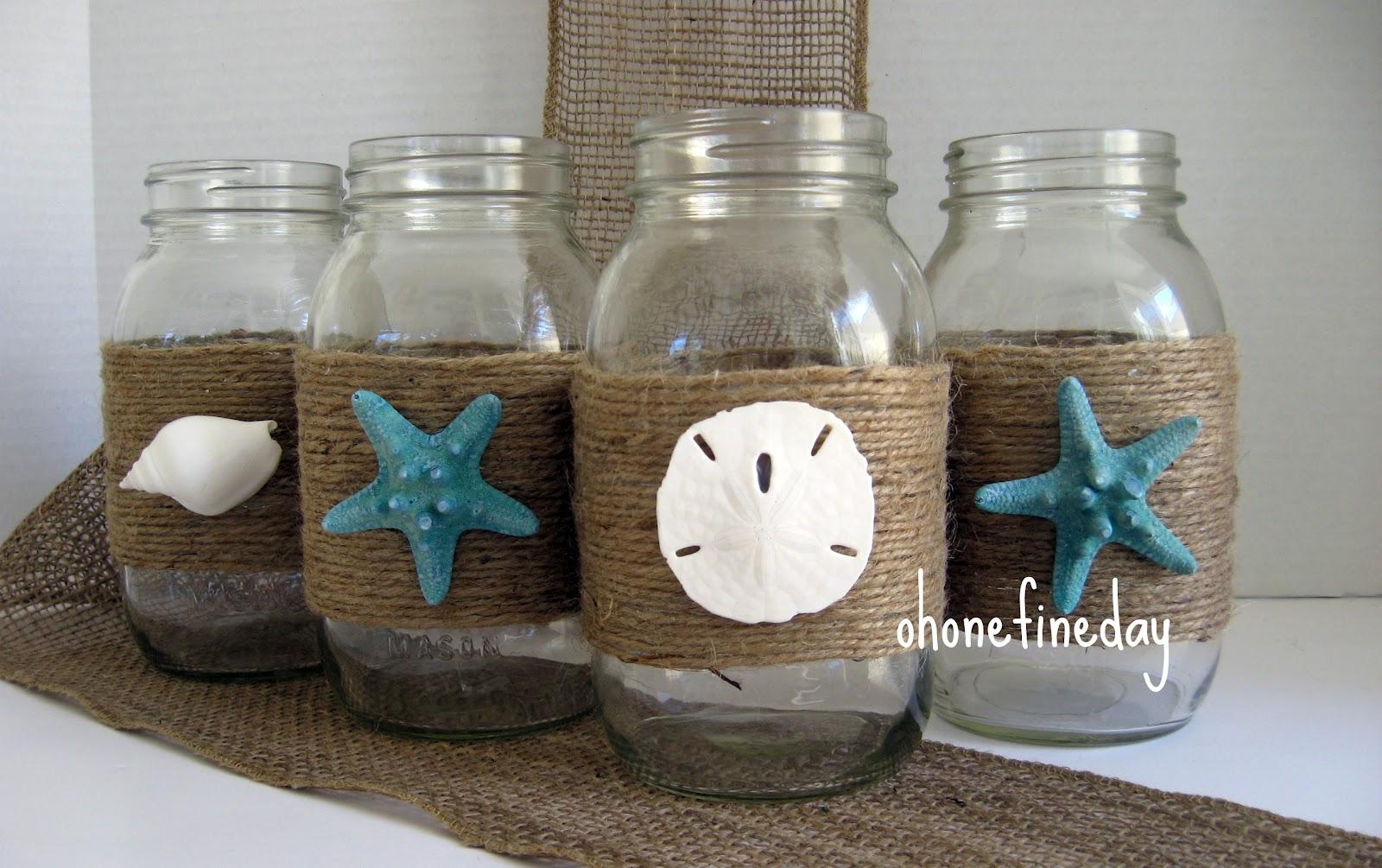 Oh One Fine Day Mason Jars Wedding Party Decorations