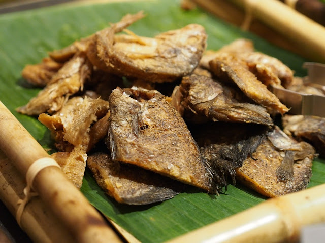 Ikan Sepat Masin (Fried Salted Fish)
