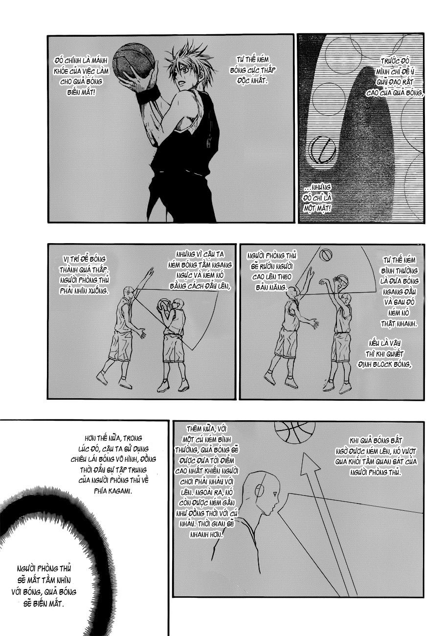 Kuroko No Basket chap 191 trang 11