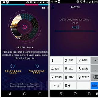 Ulasan lengkap aplikasi terbaru langit musik