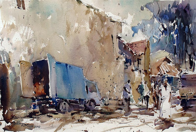 Beautiful Watercolor Paintings by Ng Woon Lam