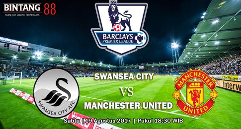 PREDIKSI SKOR  Swansea vs Manchester United  19 AGUSTUS 2017
