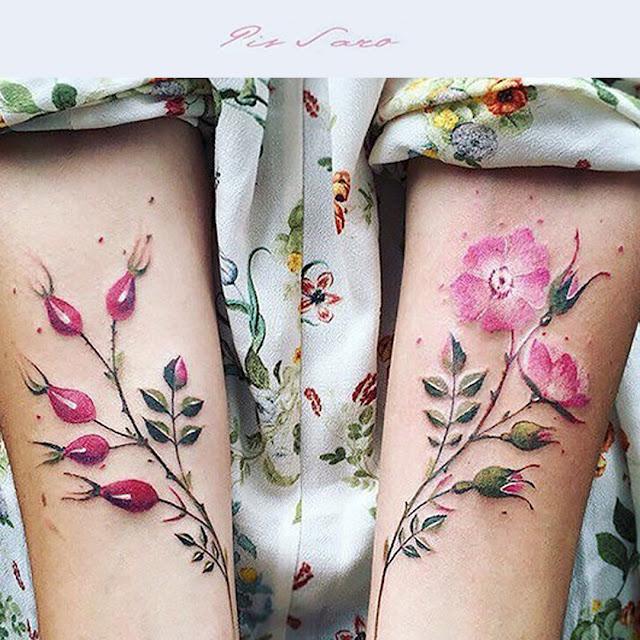 Dacon-Design-blog-tatuaż-roślinnytatuaż-kwiaty-tattoo-flowertattoo-flower