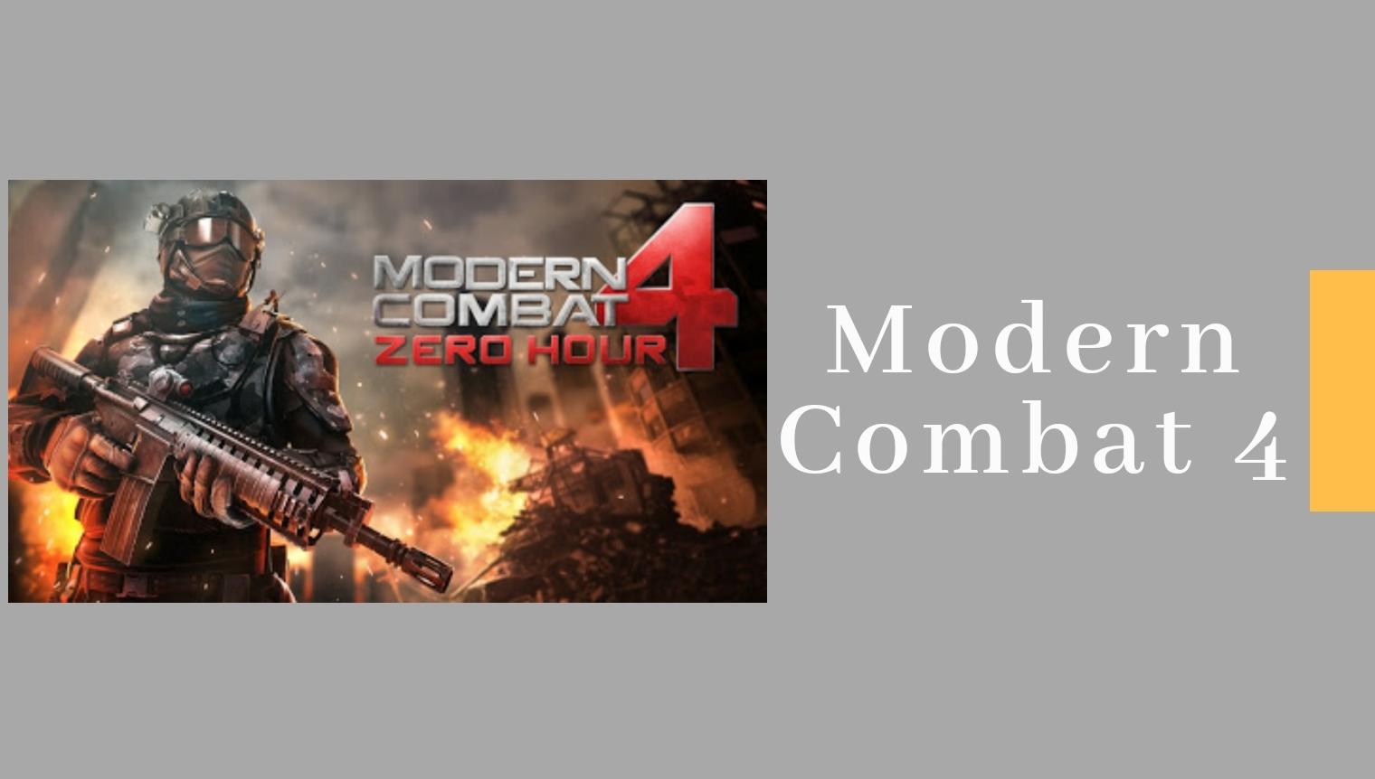 Modern Combat 4 Zero Hour Apk Apkdataobb Com
