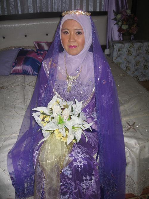 Cute Knitting Baju Pengantin Muslimah