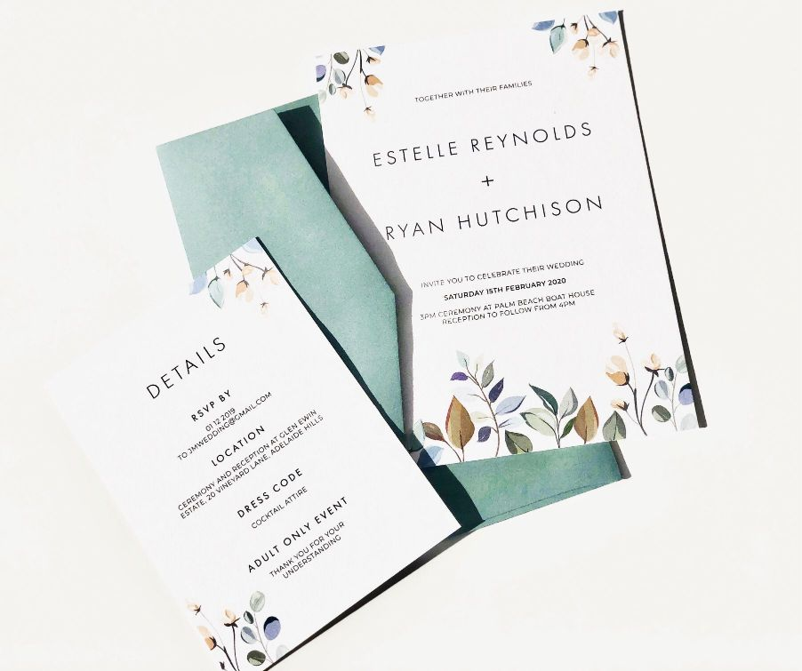 wedding stationery invitations menus placescards sydney designer