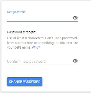4 langkah Praktis Cara Mengganti password gmail