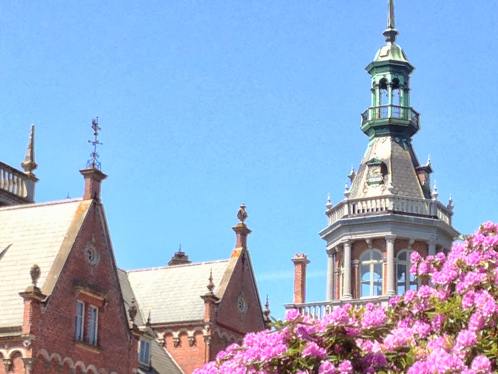 Nya slottet Kulla Gunnarstorp