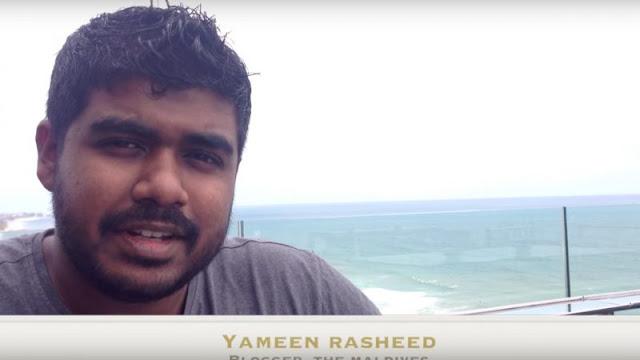 Rasheed ficou conhecido pelas suas críticas contra o governo e o islamismo radical em seu blog, The Daily Panic, e através da sua conta no Twitter (@Yaamyn). A morte dele espantou seus seguidores maldivanos, que lamentaram a perda e expressaram suas preocupações nas redes sociais. Alguns até exigiram a realização de um inquérito internacional.  Rasheed foi encontrado as 3h00 da manhã, na escadaria do seu apartamento, com múltiplas punhaladas em seu corpo. Ele morreu logo depois que chegou ao hospital. Rasheed foi esfaqueado em 16 locais diferentes: foram encontradas 14 punhaladas em seu peito, uma no pescoço e uma na cabeça. Antes de ser morto, ele tinha recebido várias ameaças por SMS e nas redes sociais, que foram denunciadas a polícia.