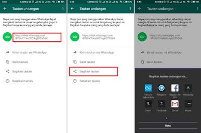 Cara Membuat Link Undangan Grup Whatsapp di Android