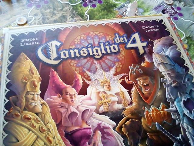 """""""Il Consiglio dei 4"""", la versione deluxe del gioco Cranio"""