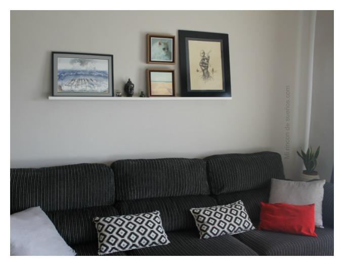 Mi rinc n de sue os decorar la pared del sof for Decorar pared sofa