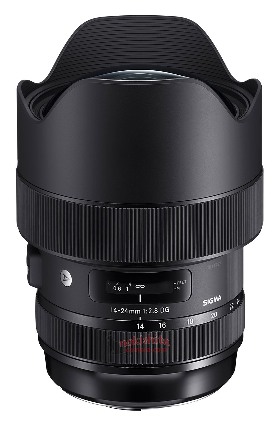 Sigma 14-24mm f/2.8 DG HSM Art с блендой