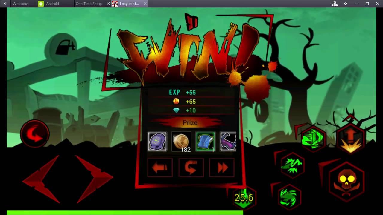 League of Stickman Zombie Mod APK v2.1.8 Full Hack (Skill ...
