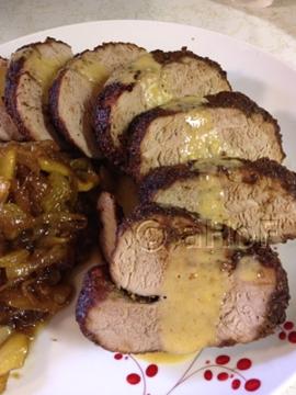 Sweet Smoky Pork Tenderloin