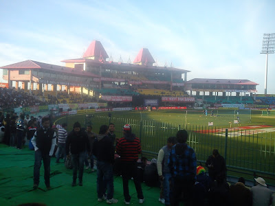 HPCA Stadium is the only international cricket stadium in Himachal Pradesh