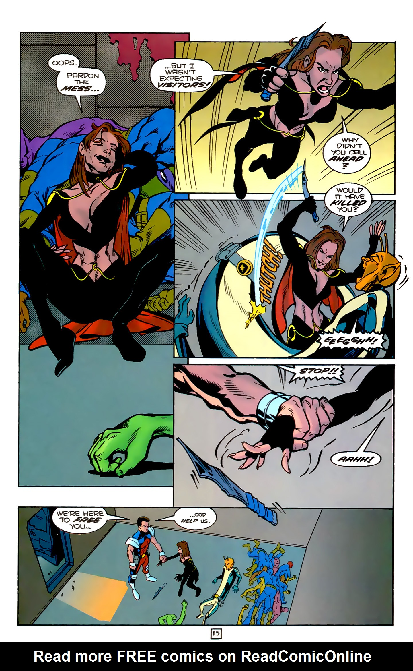 Legion of Super-Heroes (1989) 78 Page 15