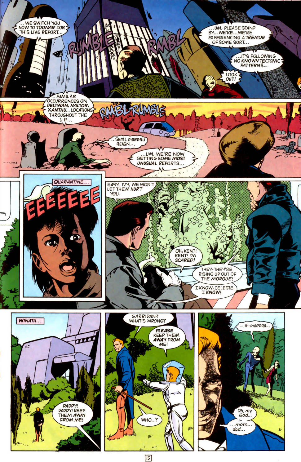 Legion of Super-Heroes (1989) 44 Page 15