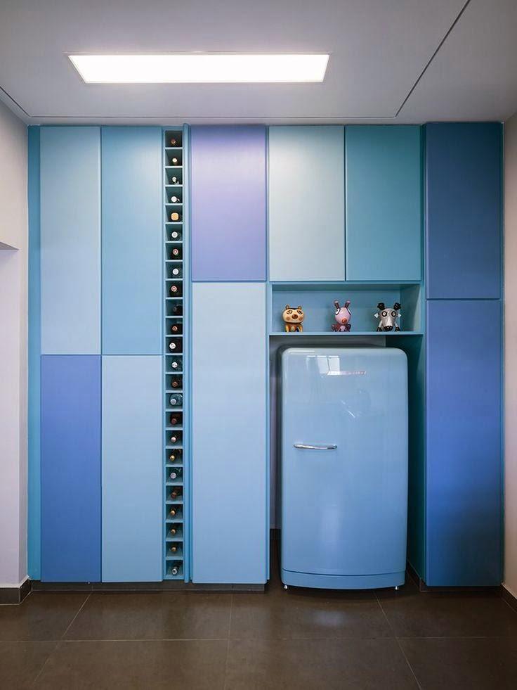 Electrodomésticos de Color en el Diseño de la Cocina