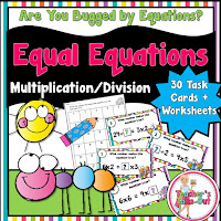 Equal Equations Multiplication and Division