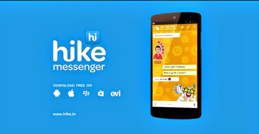 Hike messenger for pc and laptop free download (windows 7/8/xp.