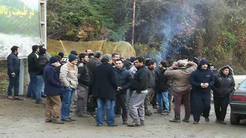 ادامه اعتصاب کارگران سد شفارود در استان گیلان