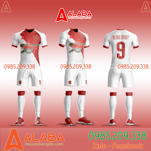 Áo bóng đá Arsenal 2019 2020