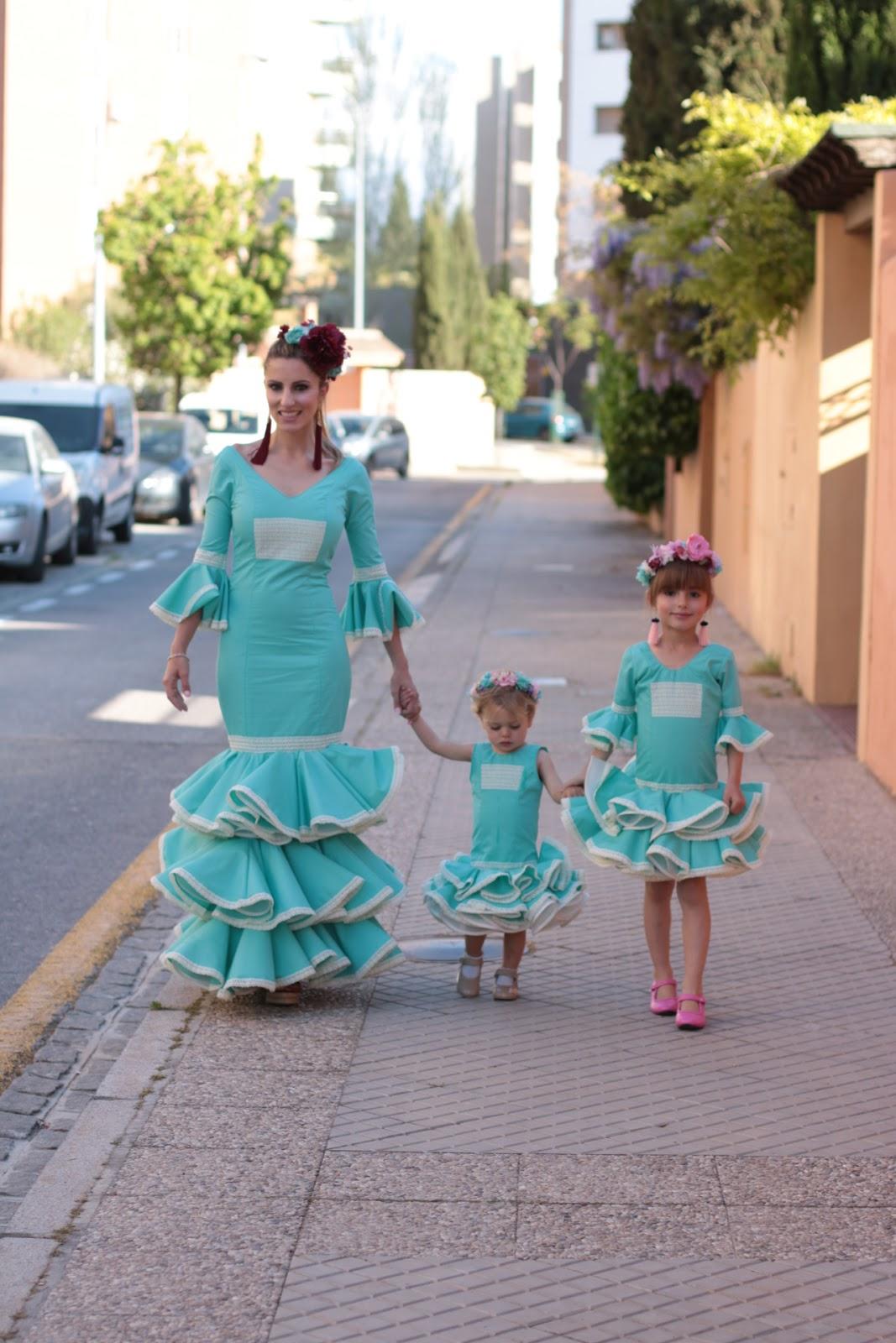 trajes flamenca diseño