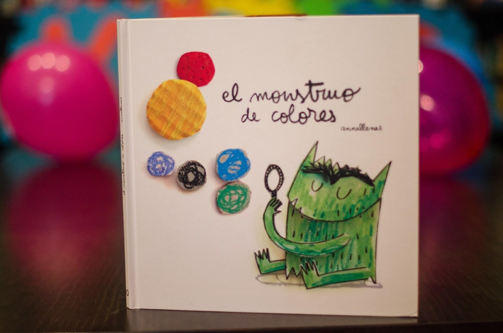 Ideas inconexas: libros: El monstruo de colores - Anna Llenas