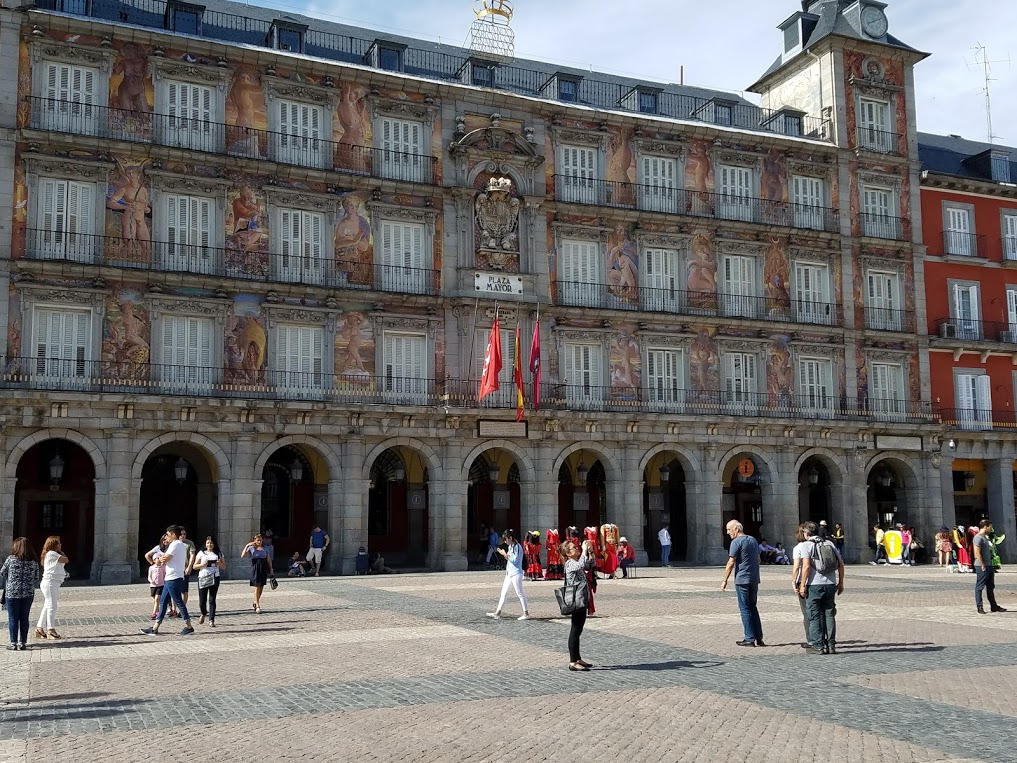Madrid's Plaza Mayor. Photo: © Lisa Foradori. Unauthorized use is prohibited.