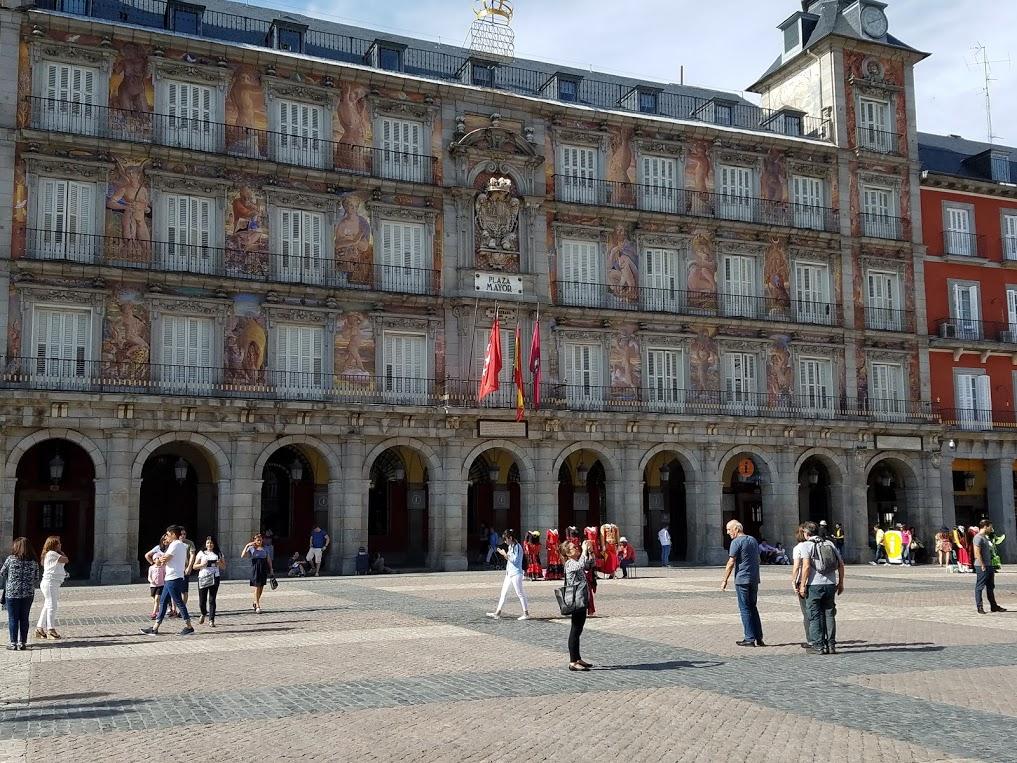 Madrid's Plaza Mayor. Photo: © Lisa Foradori. Unauthorized use is prohibited.
