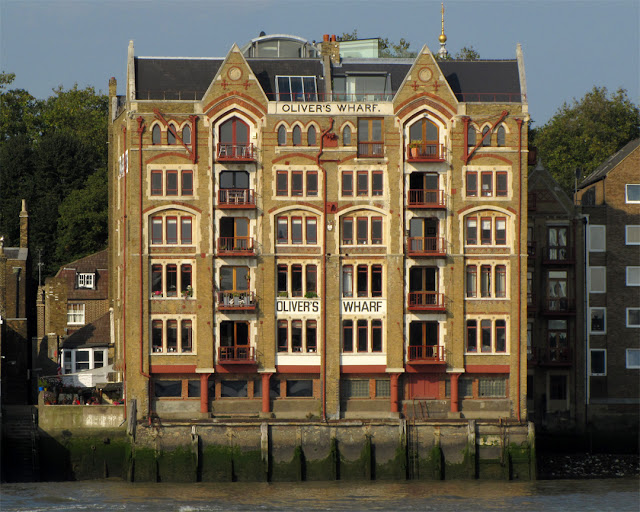 Oliver's Wharf by F. & H. Francis, Wapping High Street, Wapping, London