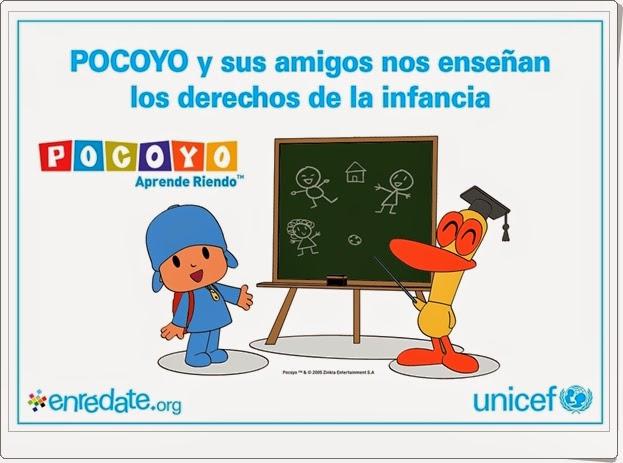 """""""Pocoyo nos enseña los Derechos del Niño"""""""