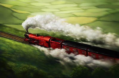 L'Espresso per Hogwarts viaggia attraverso la campagna