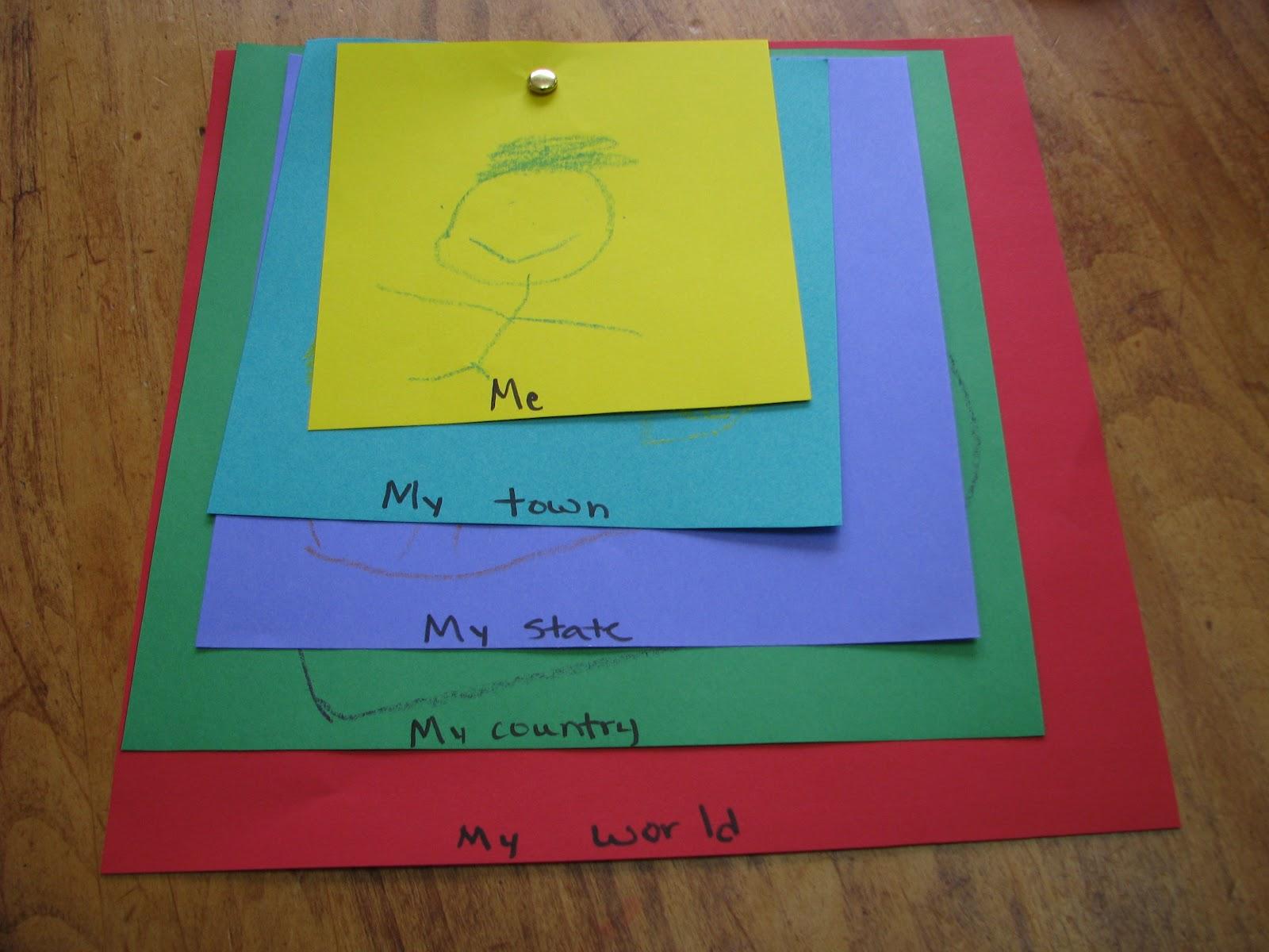 Mommy S Little Helper All About Me Preschool Week 1