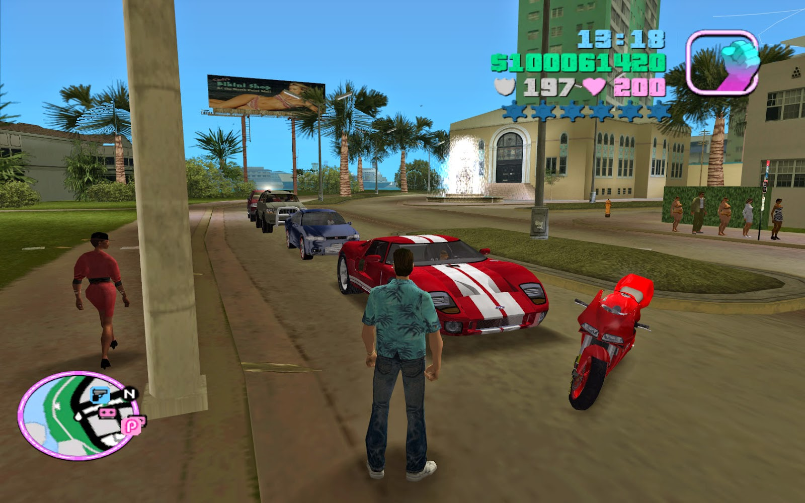 Grand Theft Auto GTA Vice City Game Free Download
