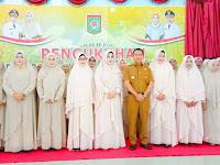 Dikukuhkan, Pengurus Majelis Taklim Uswatun Hasanah Periode 2019-2023