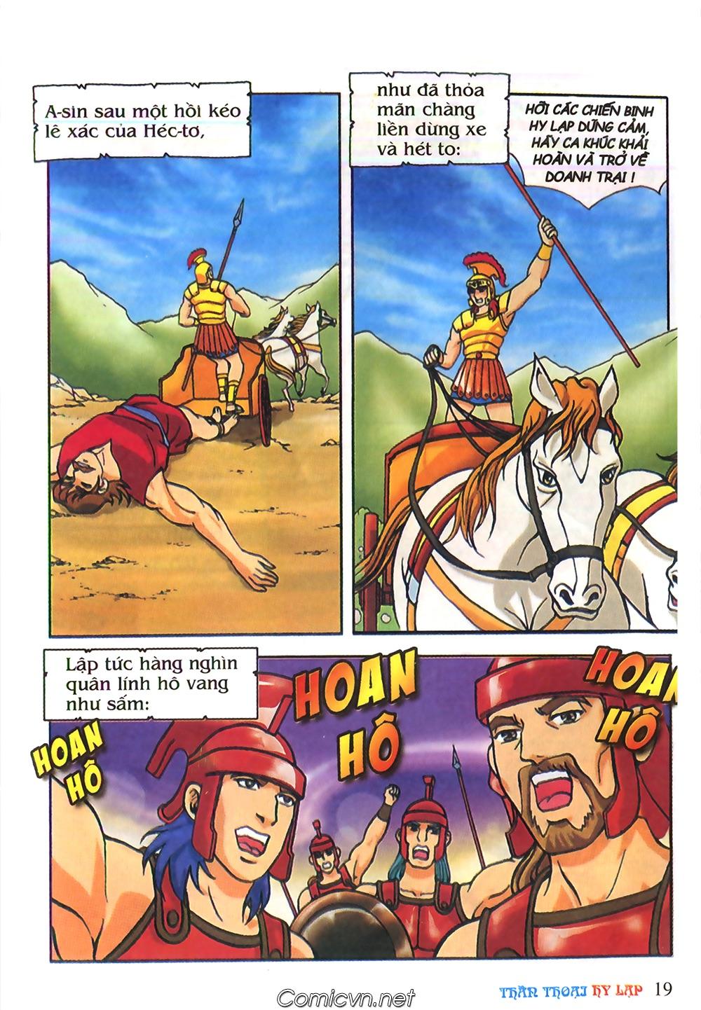 Thần Thoại Hy Lạp Màu - Chapter 62: Hector tử trận - Pic 19