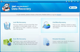 Wondershare Data Recovery Version 5.0.2.6