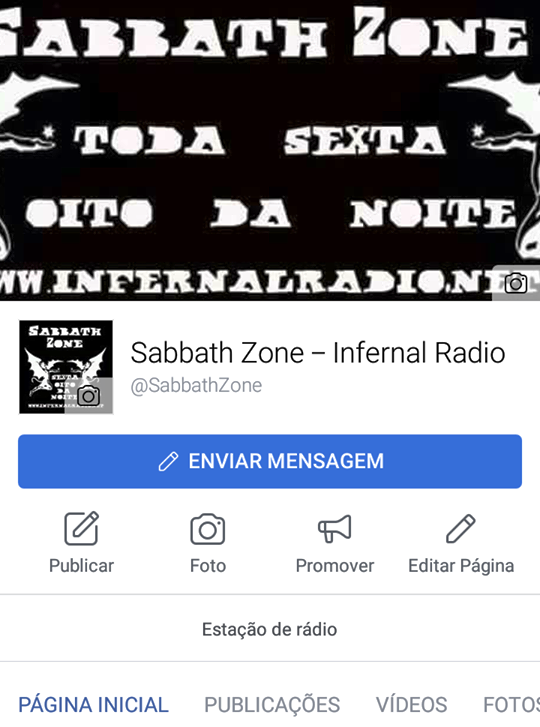 Programa Sabbath Zone no Facebook