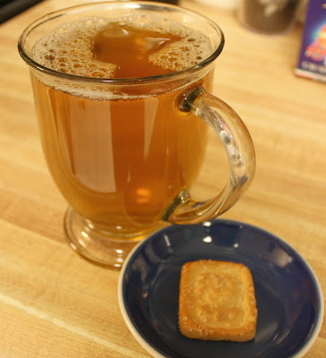 Tea and Mulino Bianco Shortbread from Degustabox