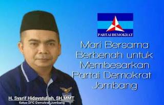 Mengenal Gus Sentot, Ketua DPC Demokrat Jombang