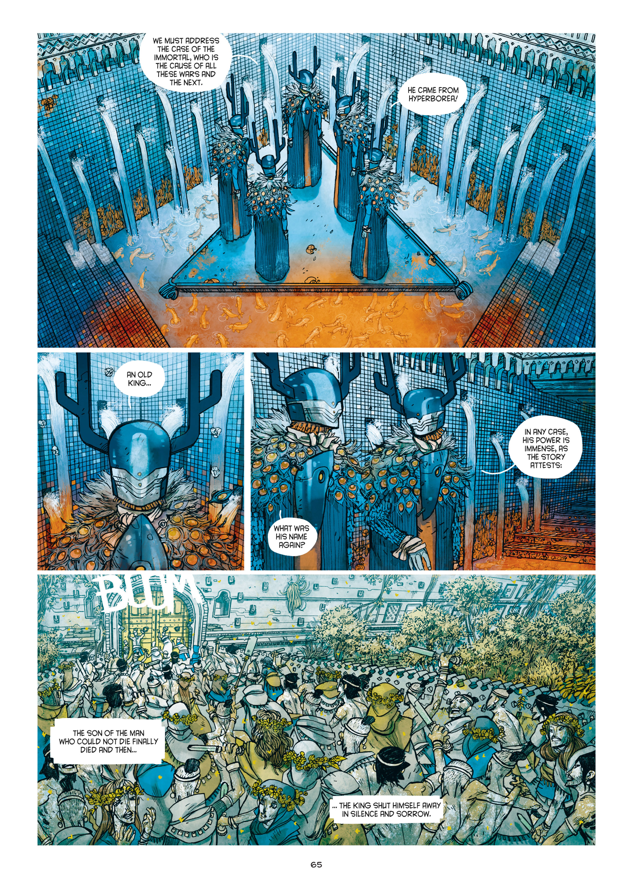 Read online Adrastée comic -  Issue #1 - 66