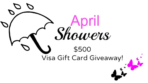 April Showers GIVEAWAY! {CLOSED}