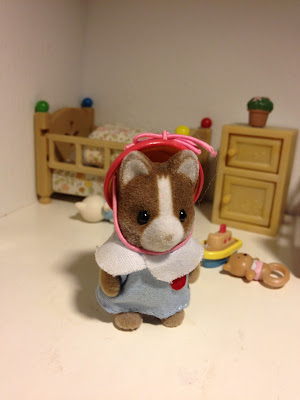 Sylvanian Families Nursery Figure set Hucklebury Dog Baby