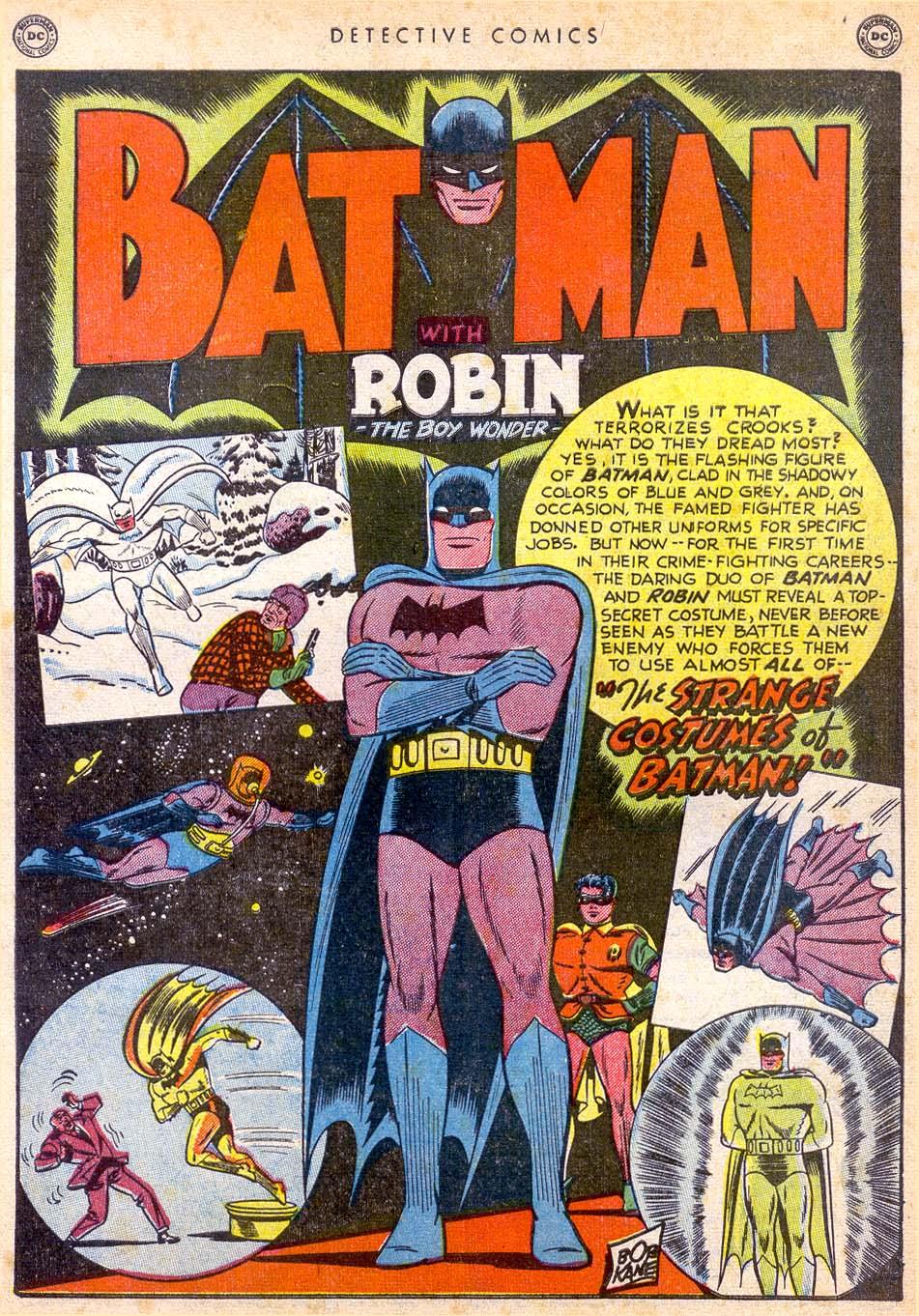 Detective Comics (1937) 165 Page 1