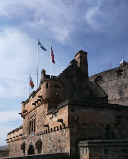 Entrance to Edinburgh Castle, Edinburgh, Scotland